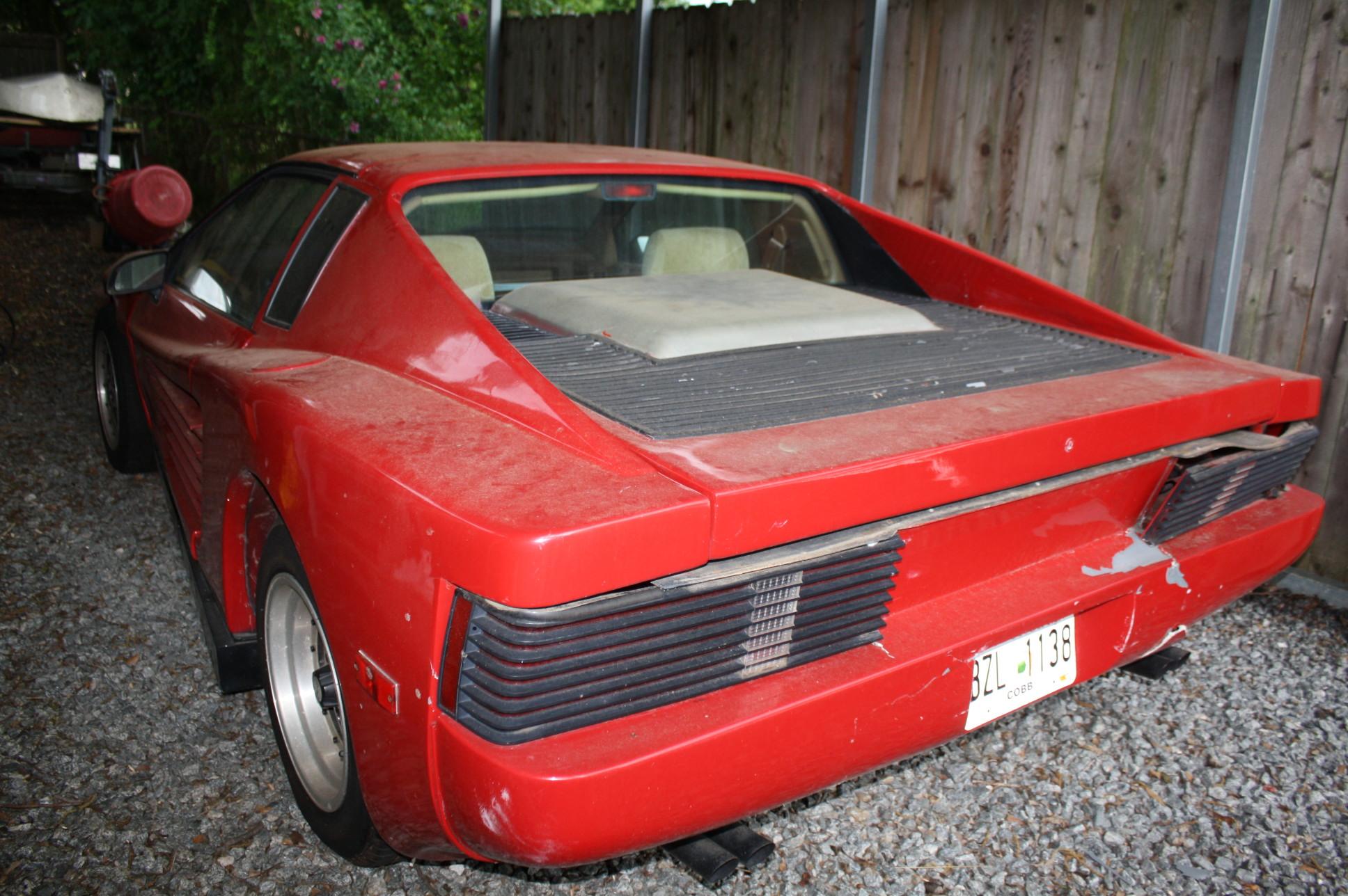 1988 Pontiac Fiero With Ferrari Kit Appraisal Engine Inc